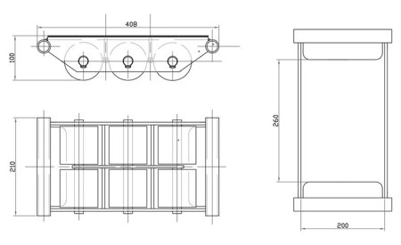 DOSTAWA GRATIS! 44366795 Rolki transportowe, transportery (udźwig: 6000 kg)