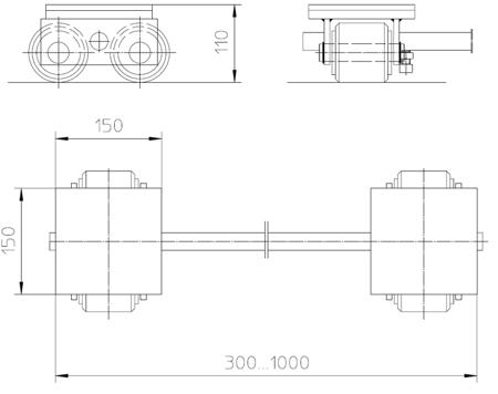 DOSTAWA GRATIS! 4993988 Podwozie transportowe (nośność: 3T)