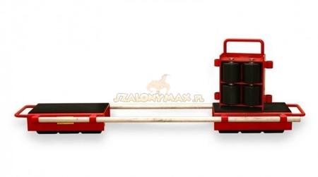 LIFERAIDA Zestaw rolek transportowych przód i tył (łączny udźwig: 24,0 T) 03015128