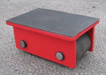 Stalmechon Wózek stały do transportu maszyn, urządzeń i sprzętu (rolki: 2x poliamid, nośność: 2 ton) 50276375