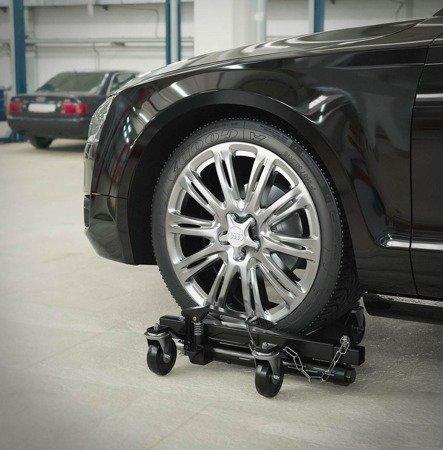 Wózek do pojazdów MSW - hydrauliczny - 2 szt. (maks. obciążenie dla jednej sztuki: 680 kg) 45674802