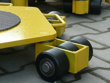 Wózek rotacyjny stały, rolki: 9x nylon (nośność: 3 T) 12258865