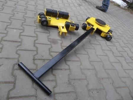 Wózek uniwersalny, rolki: 10x kompozyt/nylon (nośność: 7 T) 12277126