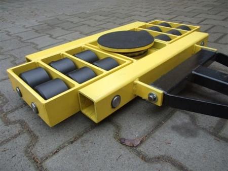 Zestaw wózków, rolki: 24x stal (nośność: 40 T) 12235626
